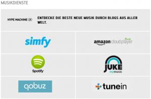 musikdienste