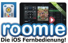 iOS Heimkino Fernbedienung