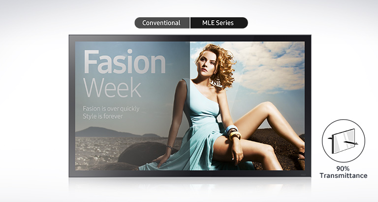 "Samsung 32″ & 55"" Direct LED ""MIRROR"" Displays"