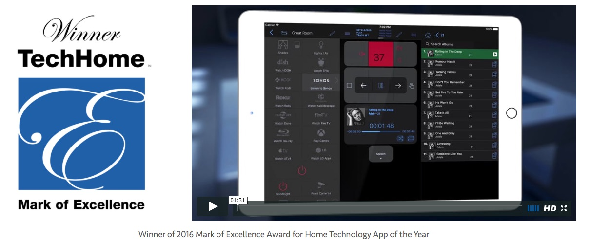 Simple Control – Sieger Excellence Award 2016
